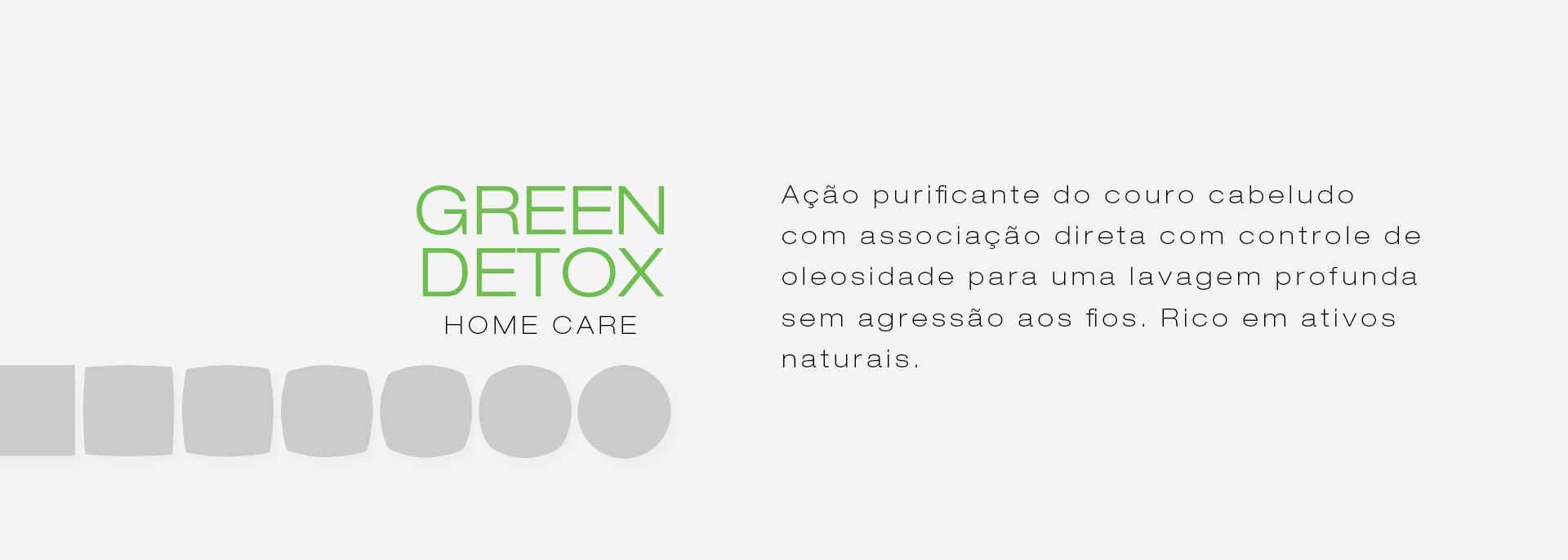 Categoria linha Green Detox